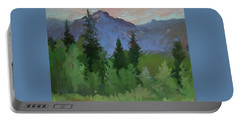 Glacier Nat'l Park - Plein Air -  Rising Wolf Ranch Portable Battery Charger