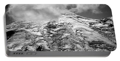 Portable Battery Charger featuring the photograph Glacier On Mt Rainier by Lori Seaman