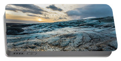 Glacier Sunrise Portable Battery Charger