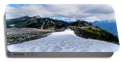 Glaciers At North Cascades Portable Battery Charger