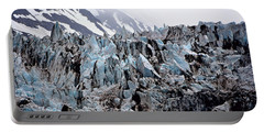 Glaciers Closeup - Alaska Portable Battery Charger