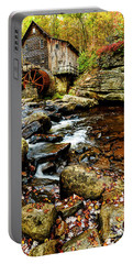 Glade Creek Grist Mill Fall  Portable Battery Charger
