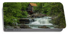 Glade Creek Grist Mill In May Portable Battery Charger