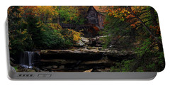 Glades Creek Grist Mill West Virginia Portable Battery Charger