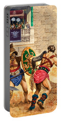 Gladiators Portable Battery Charger