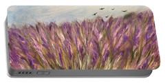Gladiolus Field Portable Battery Charger