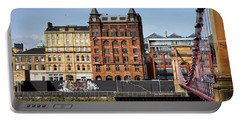 Portable Battery Charger featuring the photograph Glasgow by Jeremy Lavender Photography