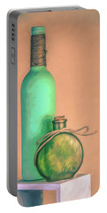 Glass Bottle Composition Portable Battery Charger