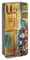 Portable Battery Charger featuring the painting Glass Bottom Boeing by Donna Howard