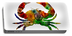 Glass Crab Portable Battery Charger