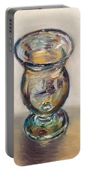 Glass Goblet Portable Battery Charger