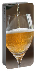 Glass Of Lager Portable Battery Charger