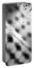 Glass Shower Room Door Portable Battery Charger