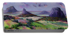 Glasshouse Mountains Dreaming Portable Battery Charger