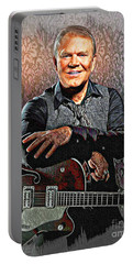 Glen Campbell - Singing Icon Portable Battery Charger