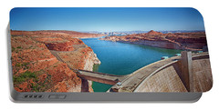 Glen Canyon Dam Portable Battery Charger by Anne Rodkin