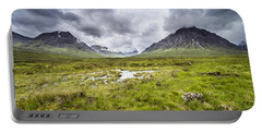 Portable Battery Charger featuring the photograph Glencoe by Jeremy Lavender Photography