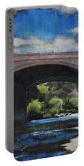Glendale Bridge Portable Battery Charger by Richard Willson