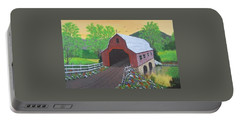 Glenda's Covered Bridge Portable Battery Charger