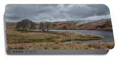Portable Battery Charger featuring the photograph Glendevon Reservoir In Scotland by Jeremy Lavender Photography