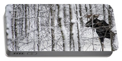 Glimpse Of Bull Moose Portable Battery Charger