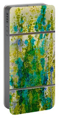 Portable Battery Charger featuring the painting Glimpse Of Spring by Carolyn Rosenberger