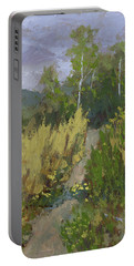 Gloomy Day Hike Portable Battery Charger