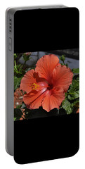 Glorious Hibiscus Portable Battery Charger