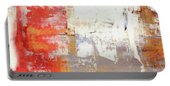Glorious Mess - Bright Abstract Painting Portable Battery Charger by Modern Art Prints