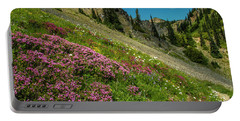 Glorious Mountain Heather Portable Battery Charger