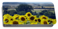 Glorious Sunflowers Portable Battery Charger