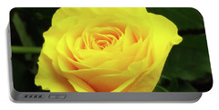 Glorious Yellow Rose Portable Battery Charger