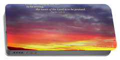 Glory And Praise  Portable Battery Charger