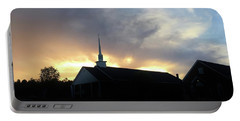 Glory To God Sunset Portable Battery Charger