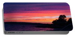 Gloucester Harbor Beach Portable Battery Charger