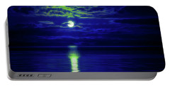 Glow In The Dark Amazing Sunset  Portable Battery Charger