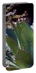 Portable Battery Charger featuring the photograph Glowing Agave by Phyllis Denton
