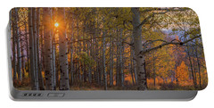 Glowing Aspen, La Sal Mountains Portable Battery Charger