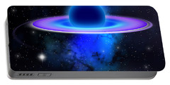 Glowing Black Hole  Portable Battery Charger