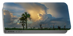 Glowing Cloud Sunrise Portable Battery Charger