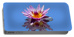 Glowing Lilly Flower Portable Battery Charger