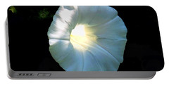 Glowing Morning Glory Portable Battery Charger