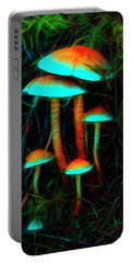 Glowing Mushrooms Portable Battery Charger