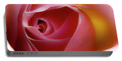 Glowing Rose Hdr Portable Battery Charger