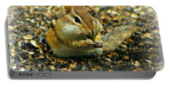 Portable Battery Charger featuring the photograph Glutton by Barbara S Nickerson