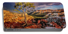 Gnarled Tree At Bryce Canyon Portable Battery Charger