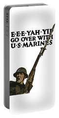 Go Over With Us Marines Portable Battery Charger