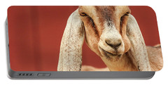 Goat With An Attitude Portable Battery Charger