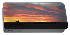 Gobi Sunset Portable Battery Charger by Diane Height