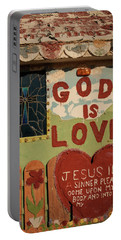 God Is Love Portable Battery Charger